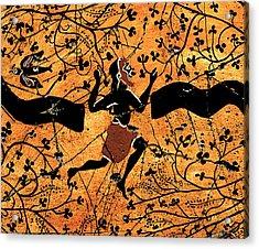 Dancing Man - Study No. 1 Acrylic Print by Steve Bogdanoff