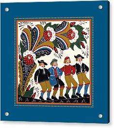 Dancing Men I Acrylic Print by Leif Sodergren