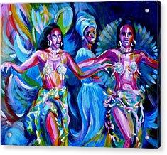 Dancing Panama Acrylic Print by Anna  Duyunova