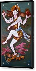 Dancing Siva  Acrylic Print