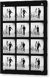 Dancing The Twist Acrylic Print by Underwood Archives