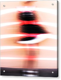 Dancing To Sinatra  Acrylic Print by Jerry Cordeiro
