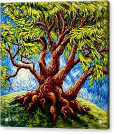 Dancing Tree Acrylic Print