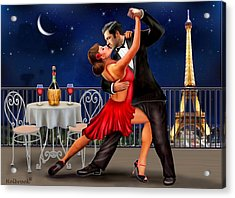 Dancing Under The Stars Acrylic Print by Glenn Holbrook