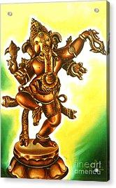 Dancing Vinayaga Acrylic Print