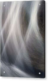 Acrylic Print featuring the photograph Dancing Water by Kathy Bassett