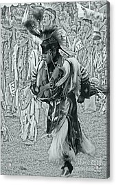Dancing With Ancestors Silver Screen Acrylic Print by Scarlett Images Photography