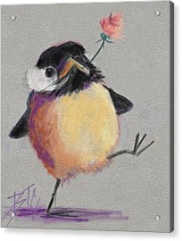 Dancing With Joy Acrylic Print by Billie Colson