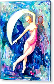 Dancing With Shadow Self Acrylic Print