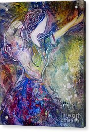 Dancing With The Lord Acrylic Print