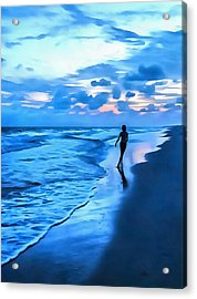 Dancing With The Waves Acrylic Print