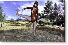 Dancing Woman Acrylic Print