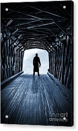 Danger Ahead Acrylic Print by Edward Fielding