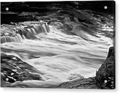 Dangerous Crossing Wat 219 Acrylic Print by G L Sarti