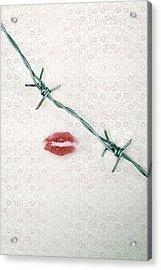 Dangerous Kisses Acrylic Print by Joana Kruse