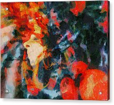 Acrylic Print featuring the painting Dangerous Passion by Joe Misrasi