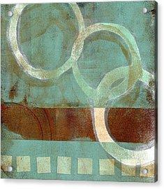 Dangling Conversation Monoprint Acrylic Print