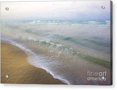 Dania Beach Acrylic Print by Glennis Siverson