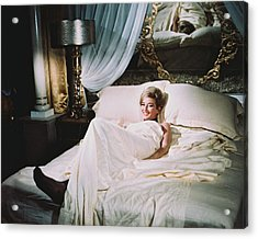 Daniela Bianchi In From Russia With Love  Acrylic Print by Silver Screen