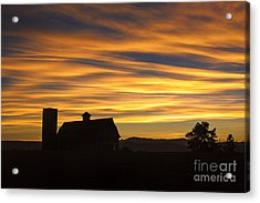 Acrylic Print featuring the photograph Daniel's Sunset by Kristal Kraft