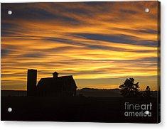 Daniel's Sunset Acrylic Print