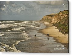 Danish Beach In North Jutland Acrylic Print