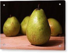 D'anjou Pears Acrylic Print by Joseph Skompski