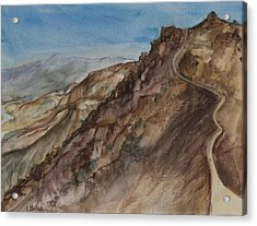 Dantes View Acrylic Print by Lynne Bolwell
