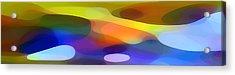 Dappled Light Panoramic 1 Acrylic Print by Amy Vangsgard