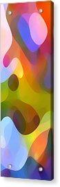 Dappled Light Panoramic Vertical 3 Acrylic Print by Amy Vangsgard
