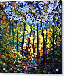 Dappled Light Acrylic Print