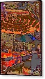 Dappled Sun Acrylic Print by Miriam Danar