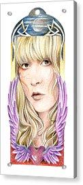 Dare My Wild Heart Acrylic Print by Johanna Pieterman