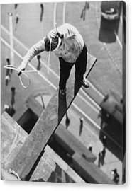 Daredevil Workout Acrylic Print by Underwood Archives