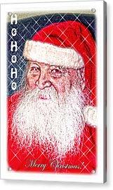 Darius Merry Christmas Acrylic Print