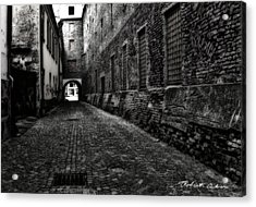Dark Alley Acrylic Print