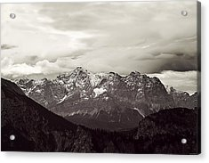 Dark Alps Acrylic Print