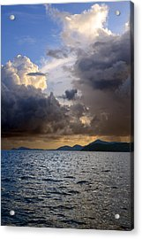 Dark And Stormy Acrylic Print by    Michael Glenn