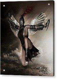 Dark Angel Acrylic Print by Shanina Conway
