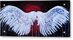 Dark Angel Acrylic Print by Stacey Pilkington-Smith