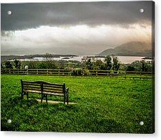 Dark Clouds Over Killarney Lakes Acrylic Print