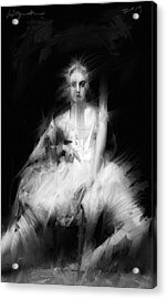 Dark Dancer Acrylic Print by H James Hoff