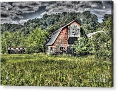 Dark Days For The Farm Acrylic Print
