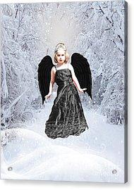 Dark Fairy Acrylic Print by ChelsyLotze International Studio