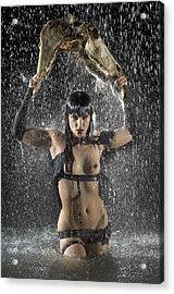 Dark Goddess Acrylic Print by Adam Chilson