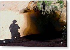 Dark Hourse Water Hole Acrylic Print