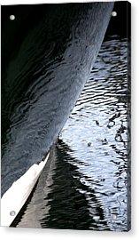 Dark Hull Acrylic Print by Newel Hunter