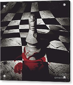 Dark Knight Of The Grand Chessboard Acrylic Print by Jorgo Photography - Wall Art Gallery