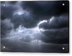 Acrylic Print featuring the photograph Dark Light by Allen Carroll