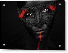 Dark Passion Acrylic Print
